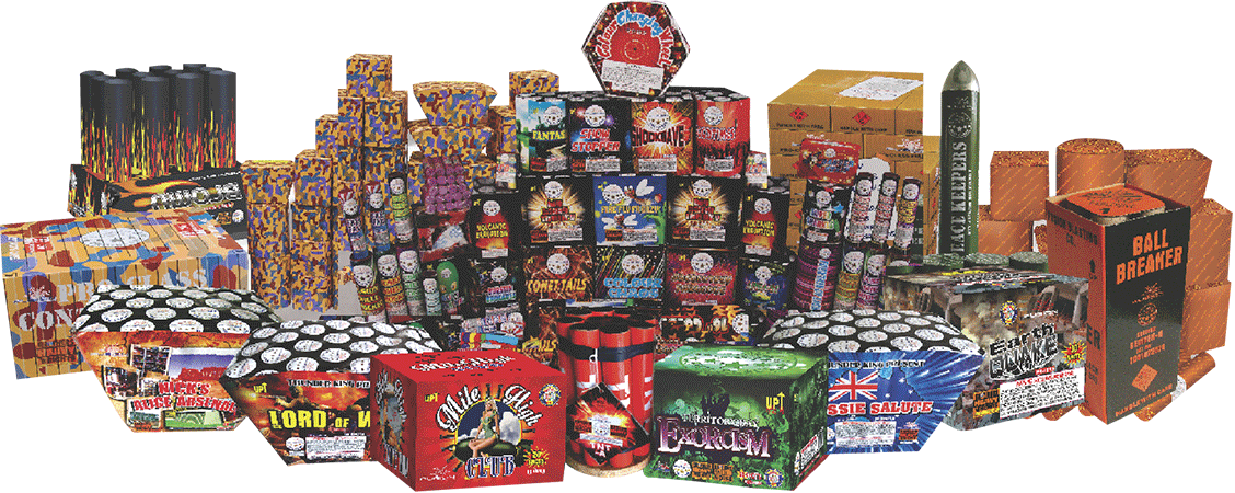 Buy Fireworks at the Fusion Fireworks Store, Delivery